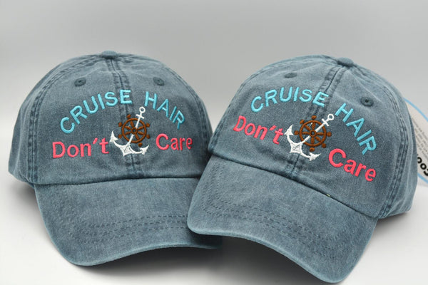 Cruise Hair Don't Care Hat (with Anchor)