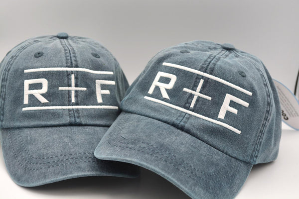 Rodan and Fields (R+F with Bars) Hat