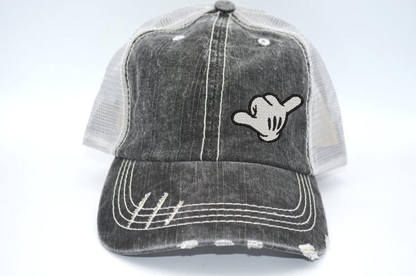 Shaka Mickey Hand Trucker Hat