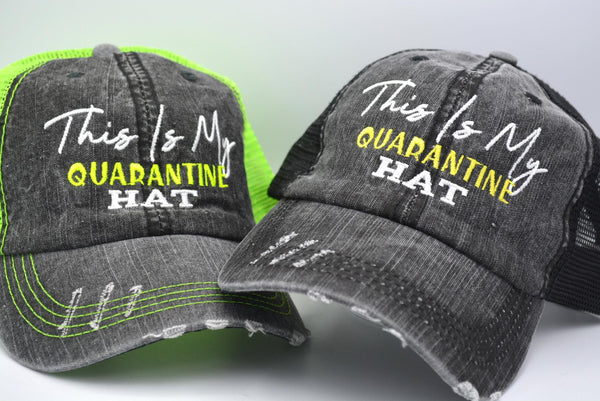 This Is My Quarantine Hat Trucker Hat