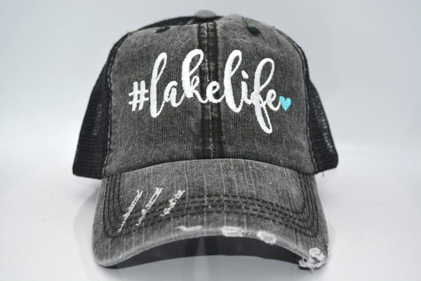 #Lakelife 💙 Trucker Hat