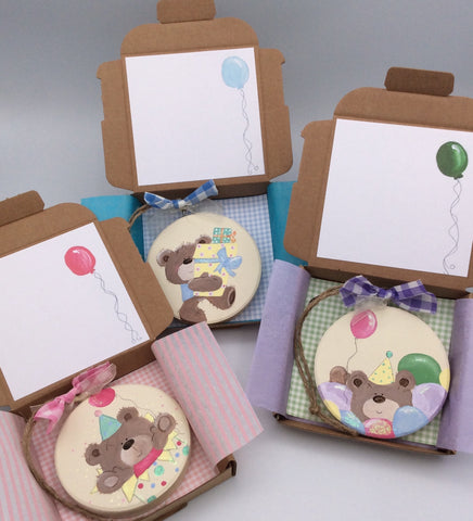 We are excited to announce the arrival of our new Teddy Keepsake Card range