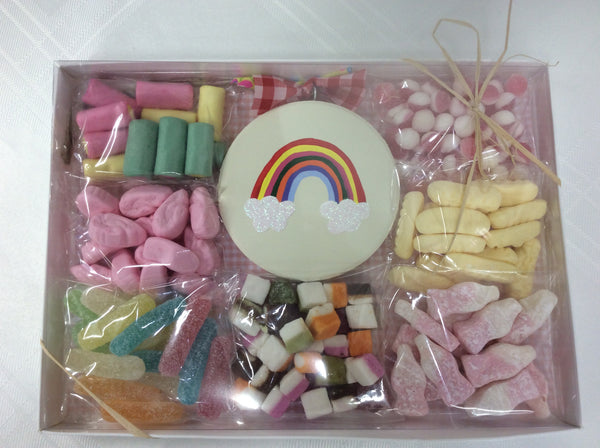 Rainbow sweetie box