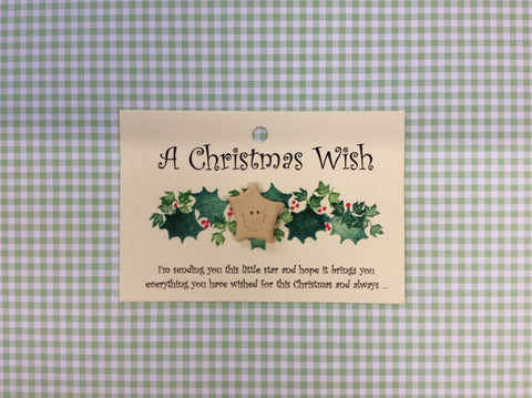 Little star card CHRISTMAS