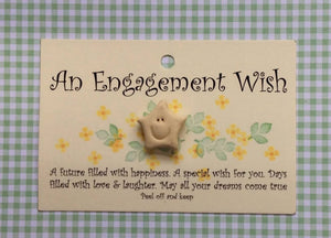 Little star card ENGAGEMENT