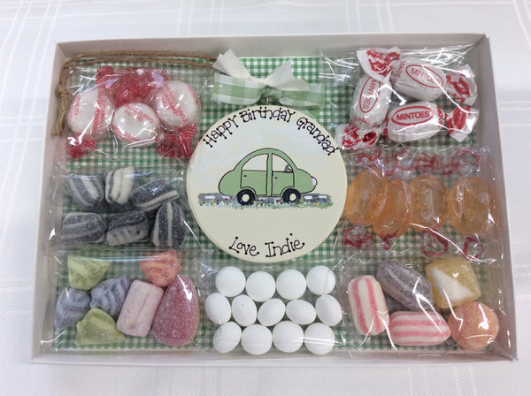 Little car sweetie box