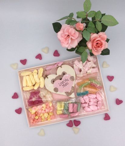 Personalised Teddy sweetie gift box