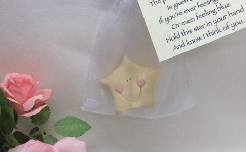 Beautiful star keepsake gift with poem