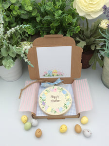 Easter wreath keepsake gift and card in one