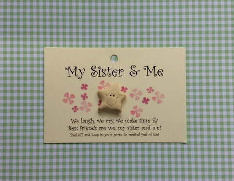 Little star card SISTER