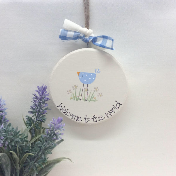 Personalised New Baby Keepsake Gift Boy (available in pink and blue)