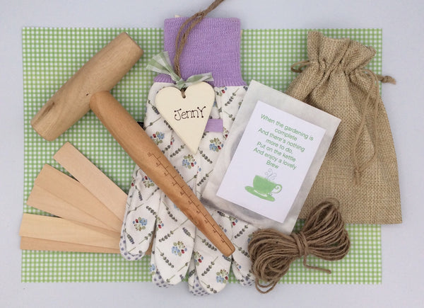 Ladies gardening gift box