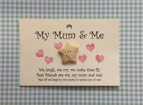 Little star card  MUM