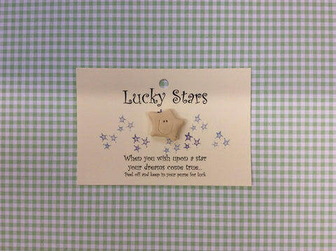 Little star card LUCKY STAR
