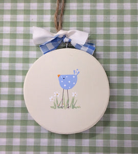 Bluebird keepsake plaque