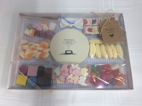 Trophy / Football sweetie box