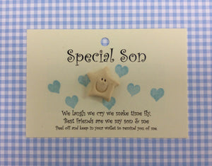 Special Son little wish card