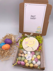 Chick Easter sweetie box