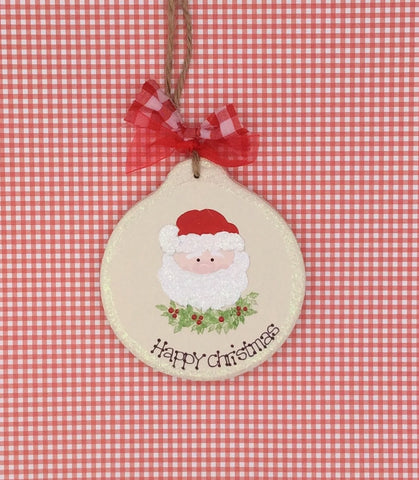 Personalised Christmas tree decoration Santa/ Father Christmas