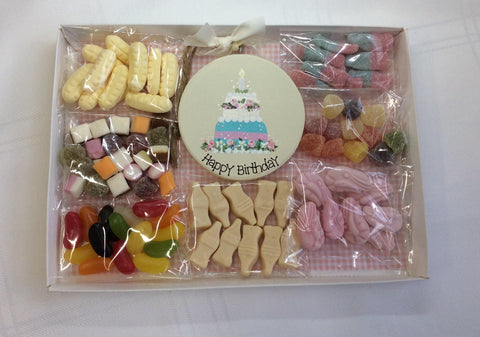 Birthday sweetie box