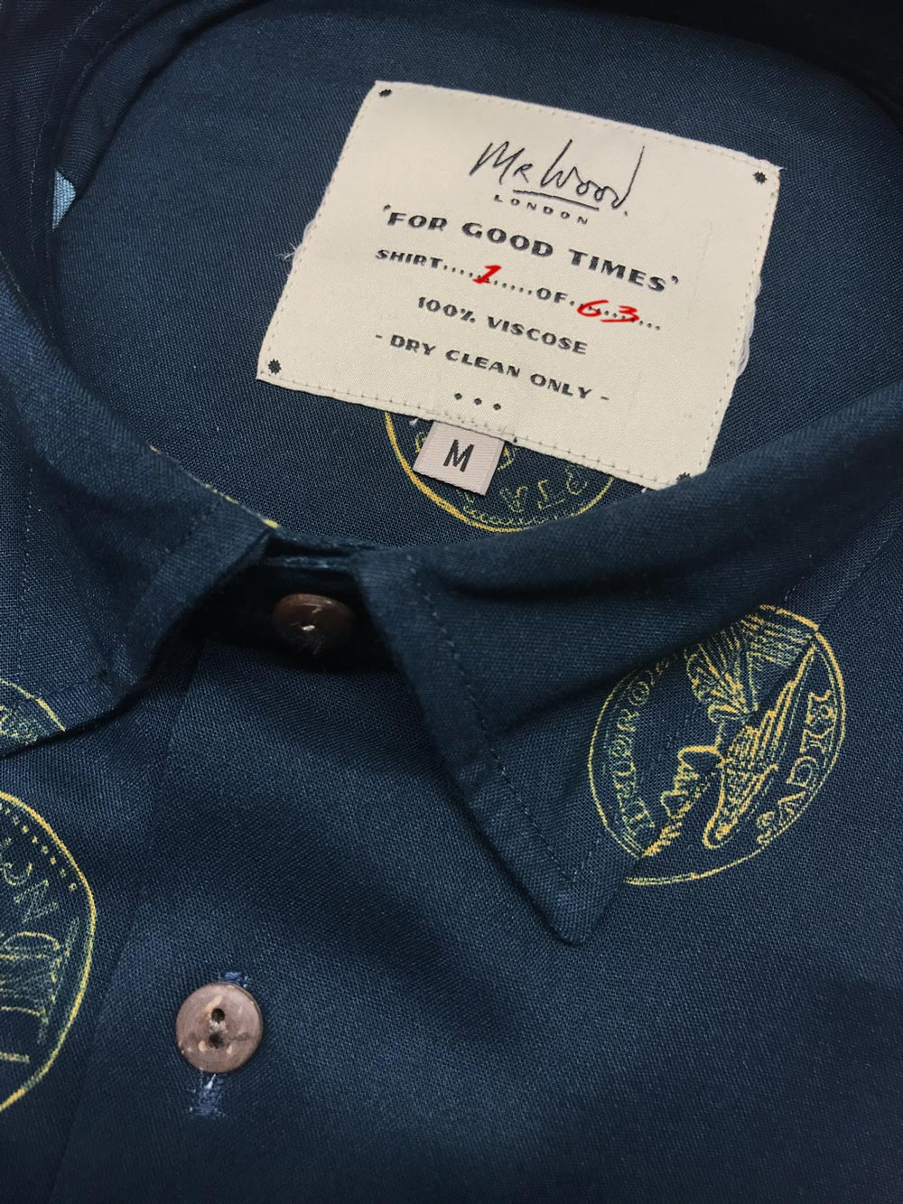 A shirt brand that inspires style in everyday life. Proudly designed in London.