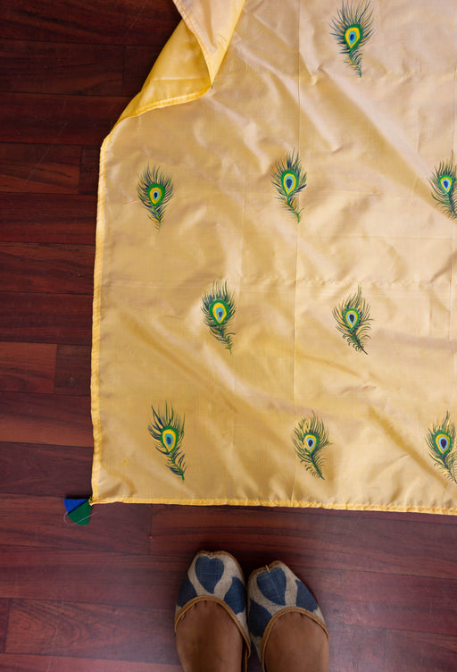silk dupatta with tassels