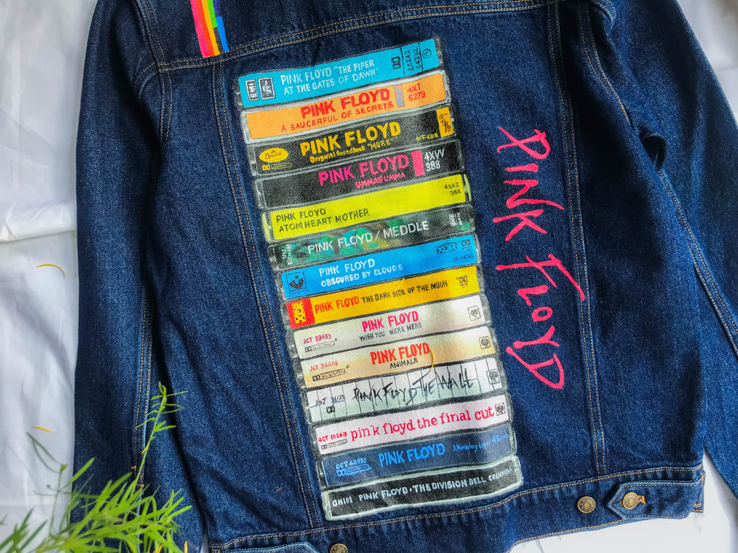 denim jacket, men, rock and roll