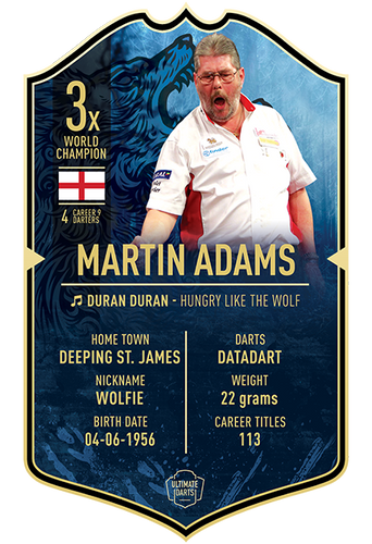 Ultimate Darts Martin Adams