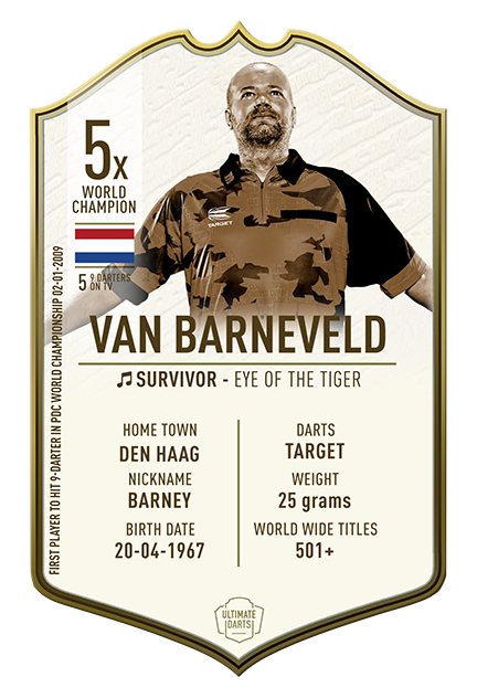 Van Barneveld The Immortals