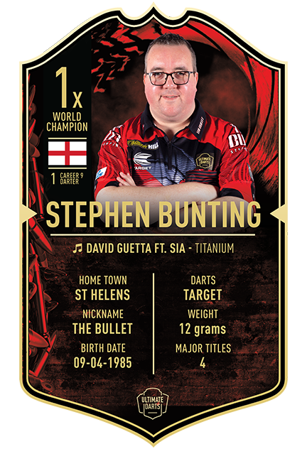 Ultimate Darts Stephen Bunting