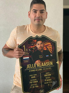 * Signed * JELLE KLAASEN ULTIMATE CARD