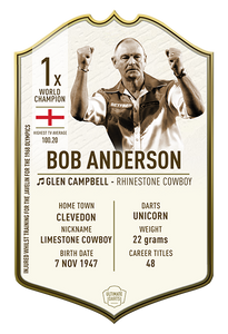 Ultimate Darts Bob Anderson