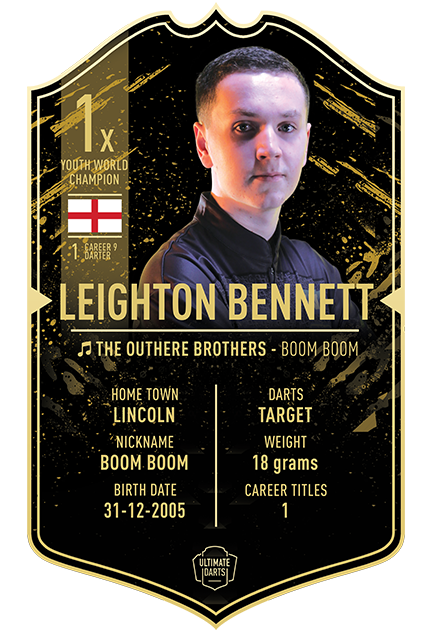 LEIGHTON BENNETT ULTIMATE DARTS