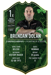 BRENDAN DOLAN ULTIMATE DARTS
