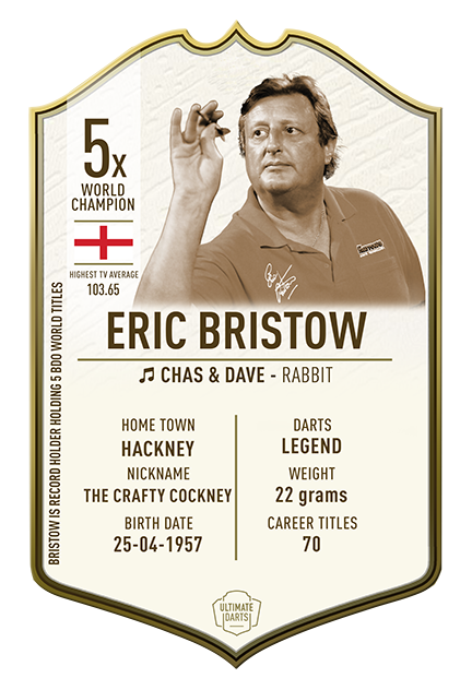 Eric Bristow The Immortals