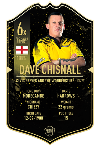 Ultimate Darts Dave Chisnall