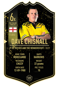 DAVE CHISNALL ULTIMATE DARTS