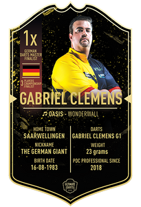 Ultimate Darts Gabriel Clemens