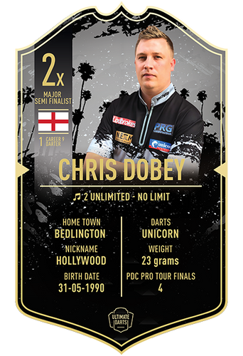 Ultimate Darts Chris Dobey
