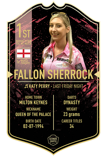 Ultimate Darts Fallon Sherrock