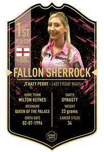 FALLON SHERROCK ULTIMATE DARTS