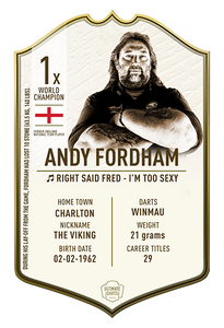 ANDY FORDHAM ULTIMATE DARTS