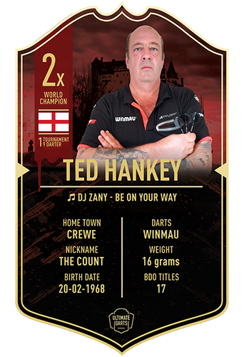 Ultimate Darts Ted Hankey