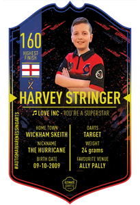HARVEY STRINGER ULTIMATE DARTS