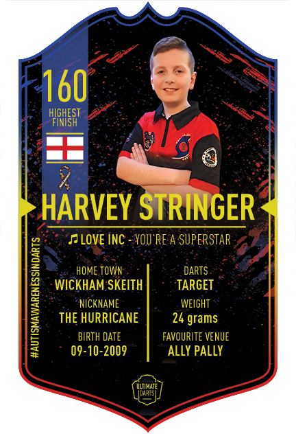 Ultimate Darts Harvey Stringer