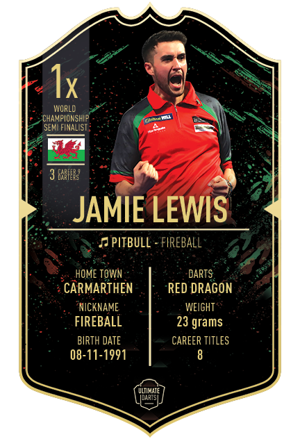 Ultimate Darts Jamie Lewis