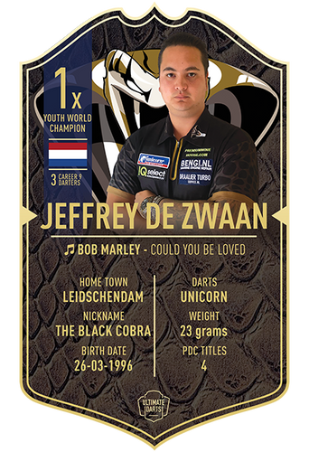 Ultimate Darts Jeffrey de Zwaan