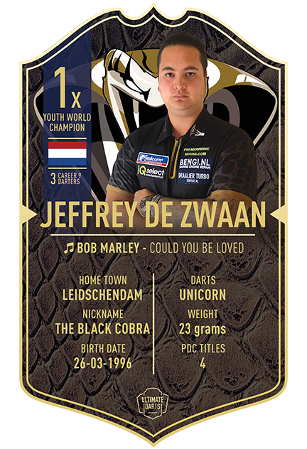 JEFFREY DE ZWAAN  ULTIMATE DARTS