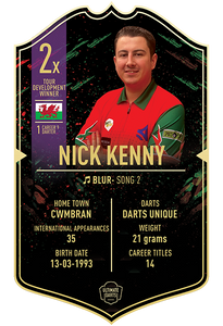 Ultimate Darts Nick Kenny