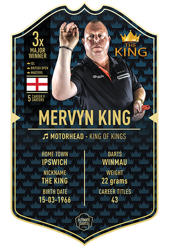 Ultimate Darts MERVYN KING